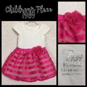 Children's Place 1989 Toddler Dress SZ 12-18 M